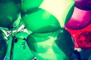 balloons colores arte